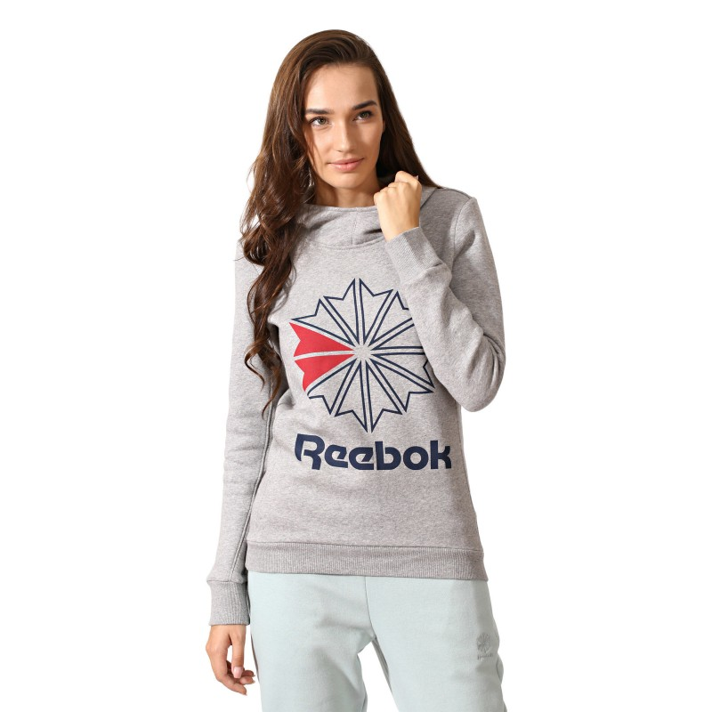 Худи женская Reebok Classics Pullover Fleece CV5029