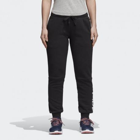 Женские тренировочные штаны Adidas ESS LIN FL PT BK7065