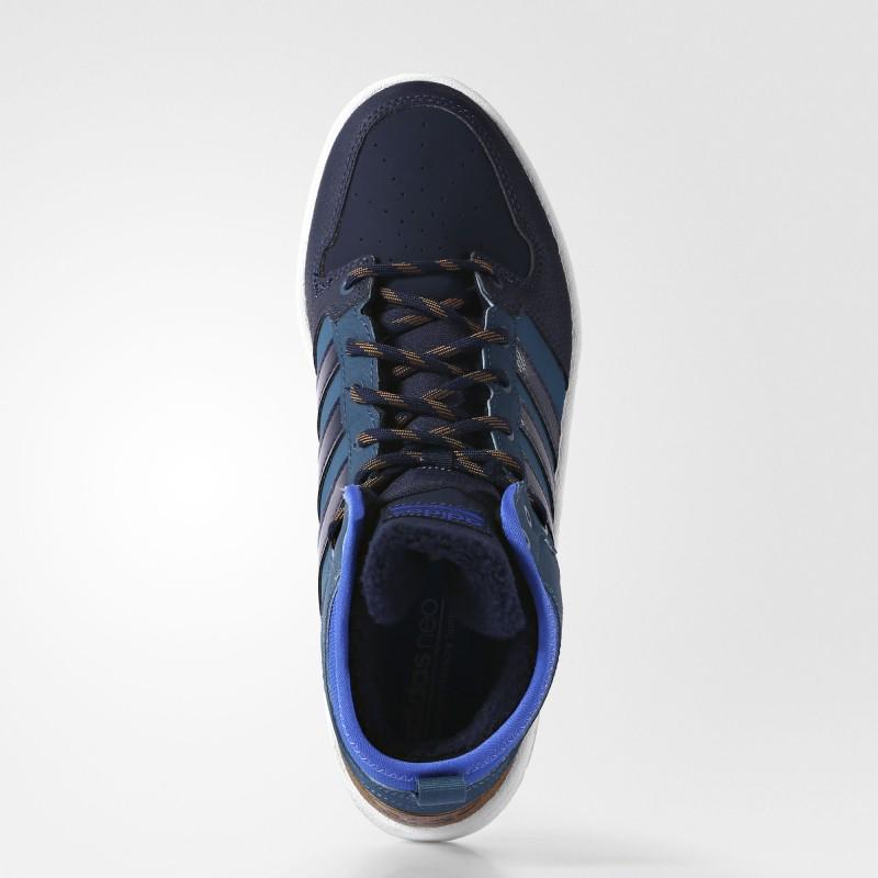 ... Кроссовки мужские высокие adidas Neo Cloudfoam Hoops Winter Mid M  AC7791 ... ba177ddae3c