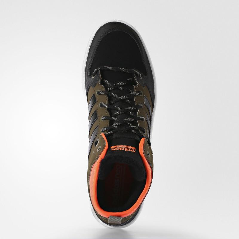 ... Кроссовки мужские высокие adidas Neo Cloudfoam Hoops Winter Mid M  AC7790 ... 71d5df92493