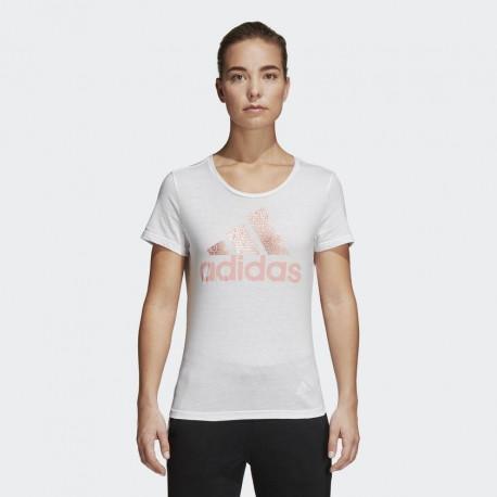 Футболка женская Adidas FOIL TEXT BOS CV4562