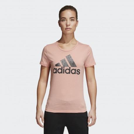 Футболка женская Adidas FOIL TEXT BOS CV4563