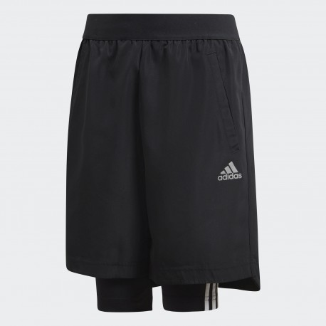 Шорты детские Adidas Football Two-in-One DJ1256
