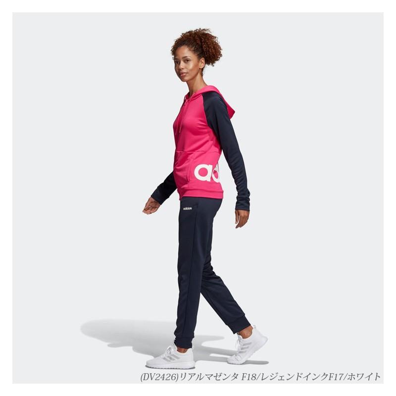 51bf4797 ... Женский спортивный костюм adidas Linear Tracksuit Regular DV2426 ...
