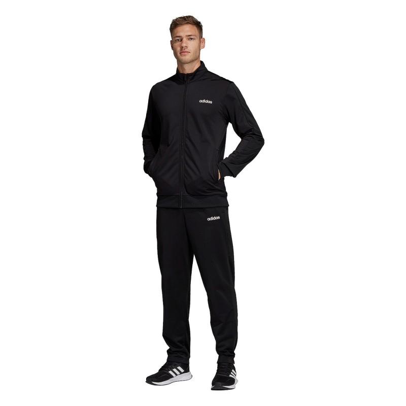 Мужской спортивный костюм Adidas MTS BASICS BLACK DV2470