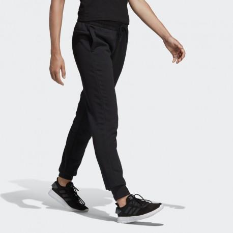 Брюки женские Adidas W E LIN PANT BLACK|WHIT DP2398
