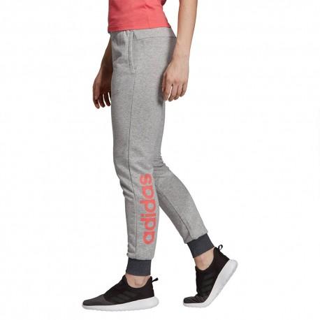 Брюки женские Adidas W E LIN PANT MGREYH|PRI DU0700