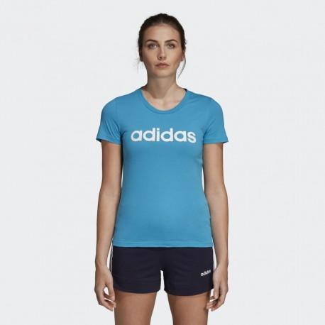 Футболка женская Adidas W E LIN SLIM T DU0630