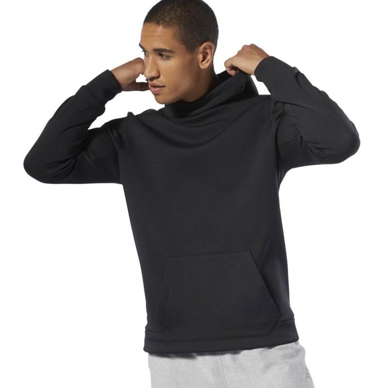 Толстовка мужская Reebok Workout Doubleknit Hoodie M DU2162