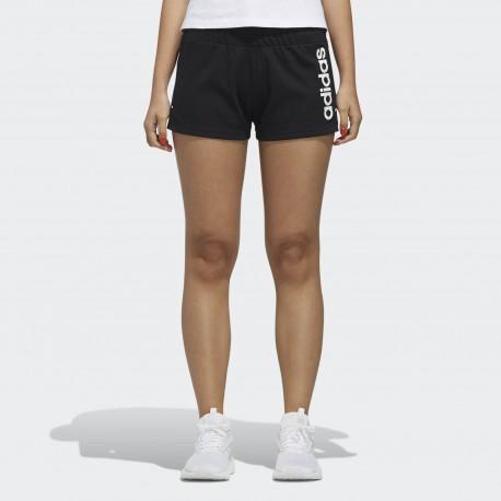 Шорты женские Adidas W C+ SHORTS BLACK WHIT DW8005