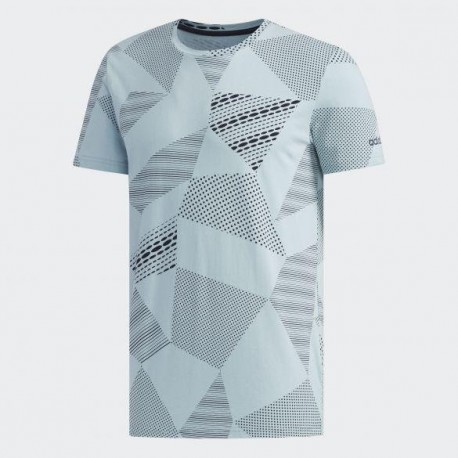 Футболка мужская Adidas M FAV AOP TEE ASHGRE LEG DW8213