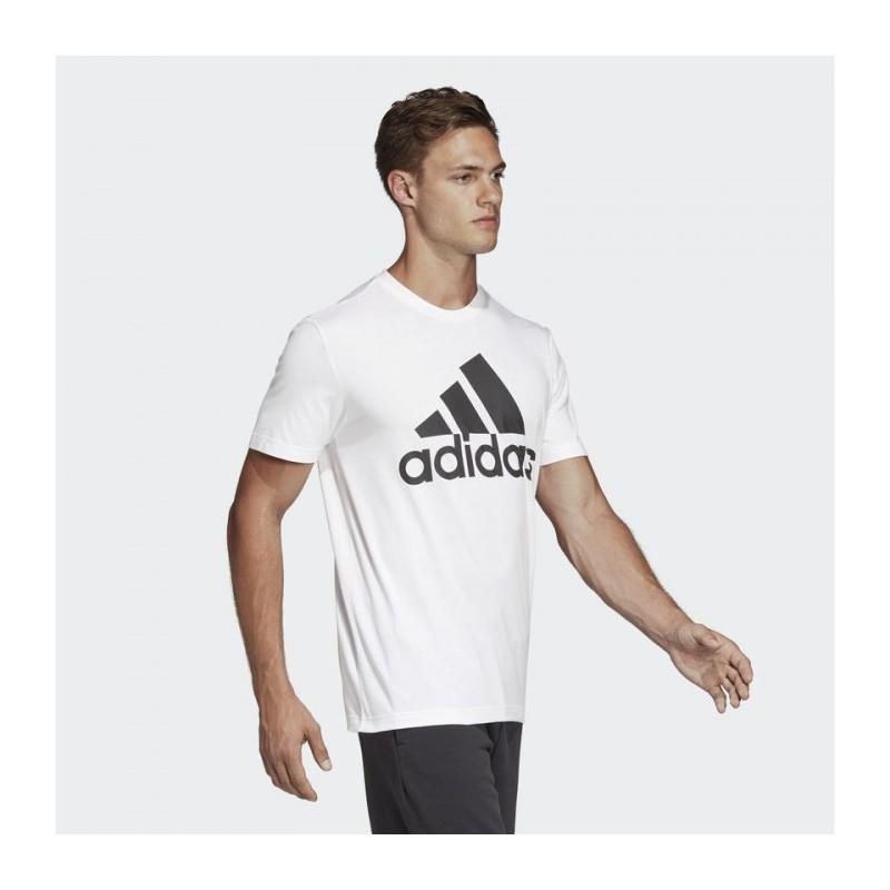 Футболка мужская Adidas MH BOS Tee WHITE|BLAC DT9929