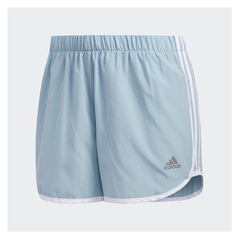 Шорты женские Adidas M20 SHORT W ASHGRE WHI DQ2647