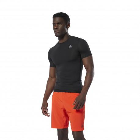 Компрессионная футболка мужская Reebok WOR SL SS SLD COMP BLACK DP6163