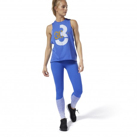 Леггинсы женские Reebok CrossFit Lux Fade Tights DQ DQ0030