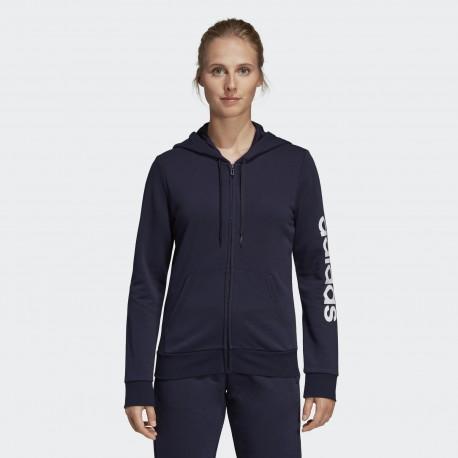 Толстовка женская Adidas W E LIN FZ HD DU0648