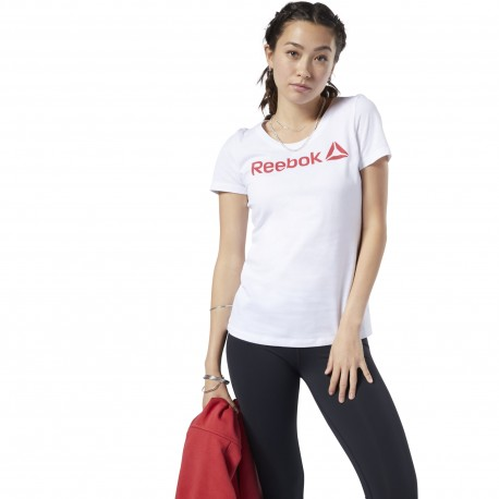 Футболка женская Reebok Linear Read Tee EC2027