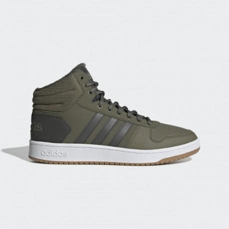 Кроссовки высокие мужские Adidas Neo Hoops 2.0 Mid EE7370