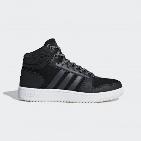 Кроссовки высокие женские Adidas Neo Hoops Mid 2.0 B42110