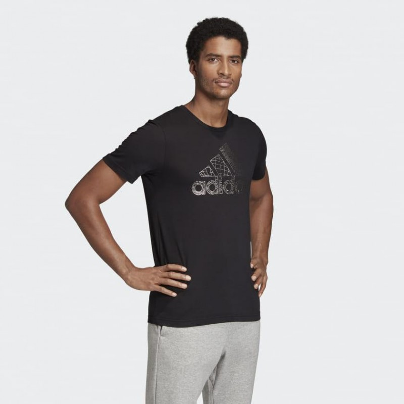 Футболка мужская Adidas Must Haves Badge of Sport Foil Tee ED7256