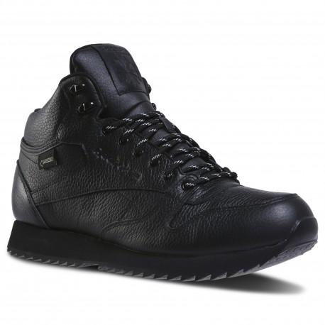 Ботинки мужские утеплённые Reebok Classic Leather Mid Ripple GTX DV5107