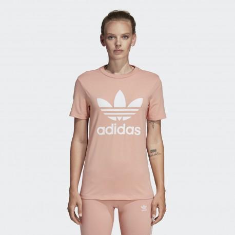 Футболка женская Adidas Originals Trefoil DV2587