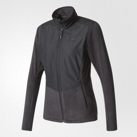 Кофта спортивная женская Adidas W WINDFLEECE J A98423