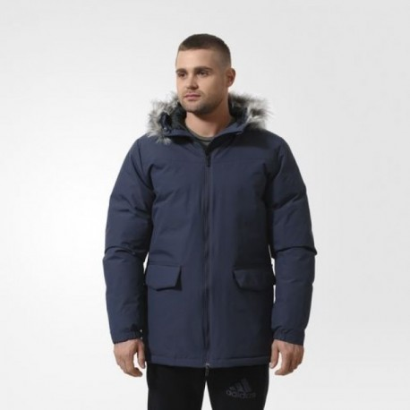Парка зимняя мужская Adidas SDPJKT LONG FUR AA1366