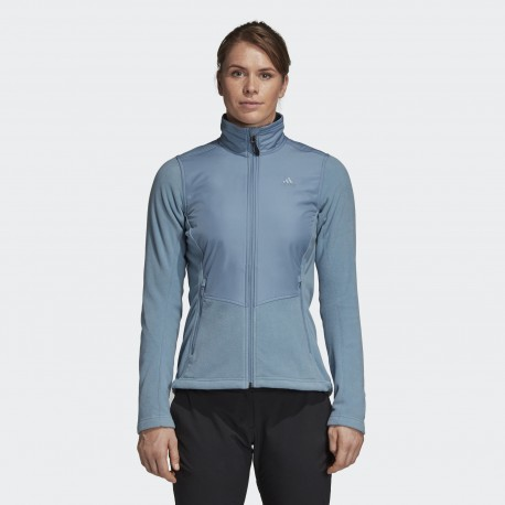 Толстовка женская Adidas W WINDFLEECE J DN6002