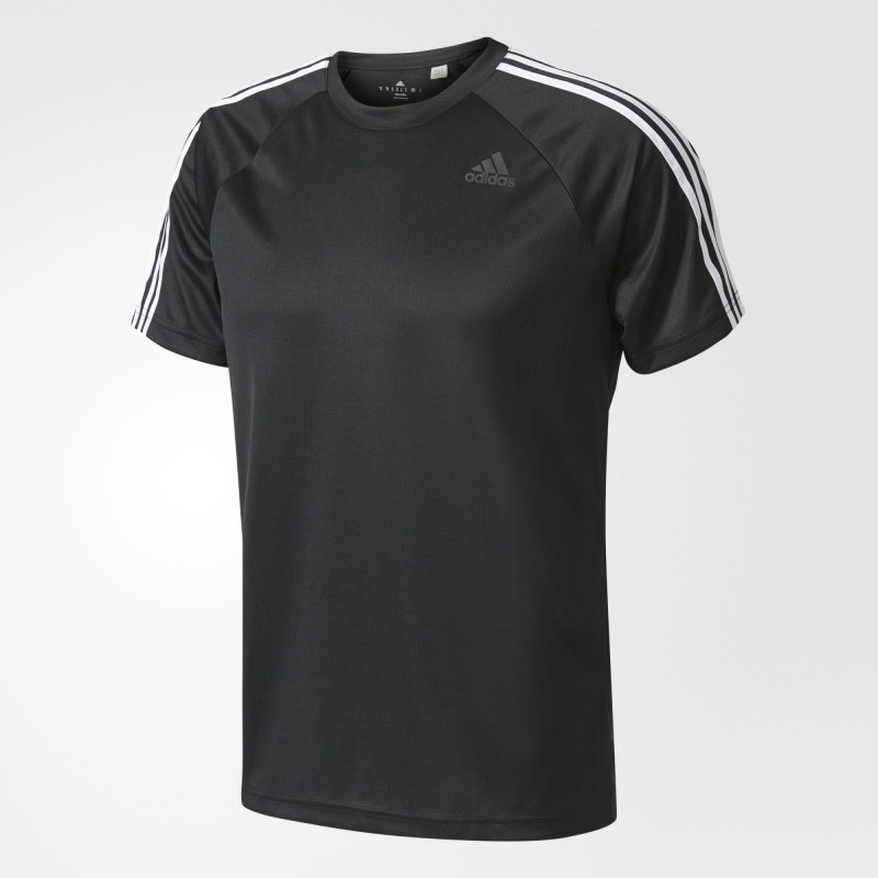 Футболка мужская adidas Performance  D2M 3-Stripes M BK0970