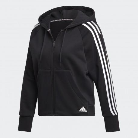 Толстовка женская adidas Must Haves 3-Stripes DW9695