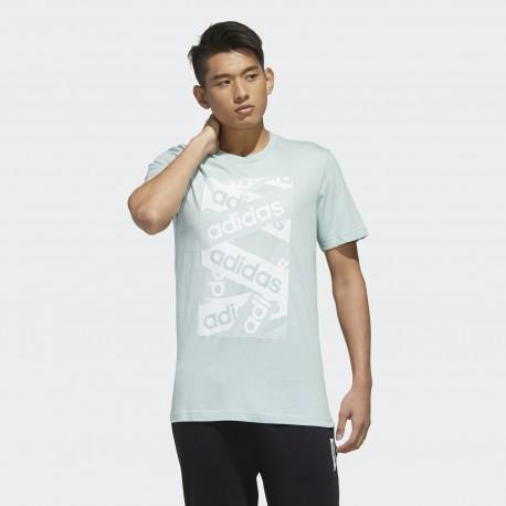 Футболка мужская adidas Logo Laces FM6244