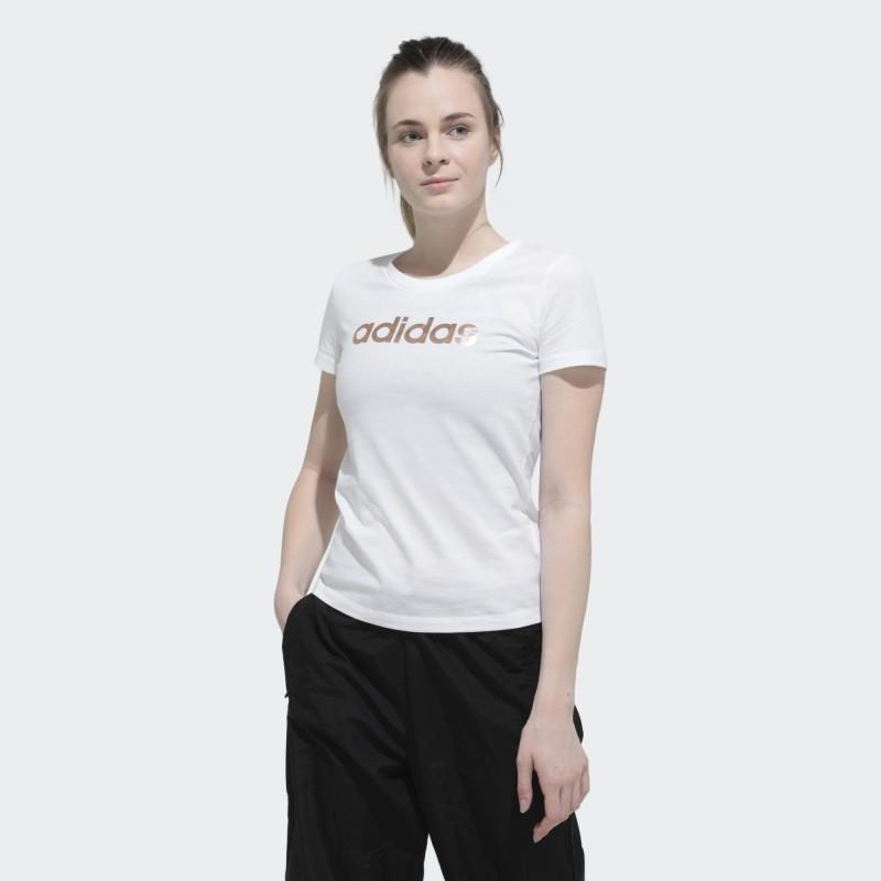 Футболка женская Adidas Foil Linear Logo EC4745