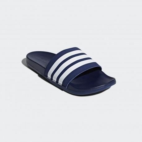Шлепанцы мужские Adidas  Adilette Cloudfoam Plus Stripes B42114