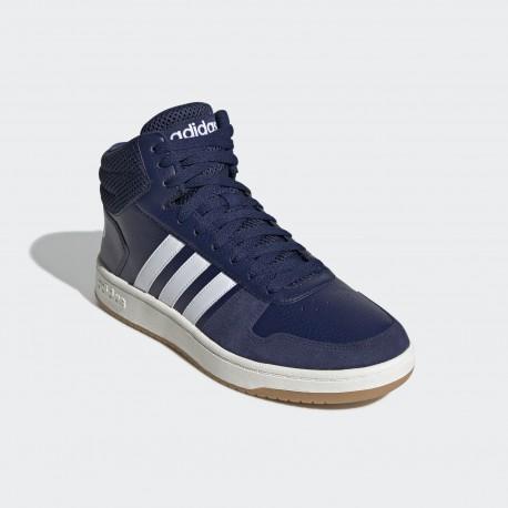 Кроссовки мужские Adidas  HOOPS 2.0 MID EE7384