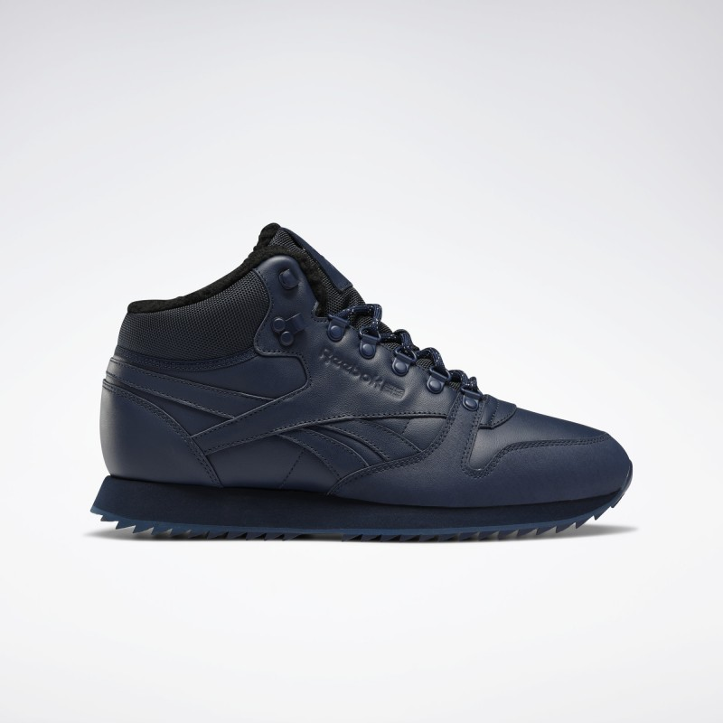 Кроссовки мужские  Reebok Classic Leather Mid Ripple FU9130