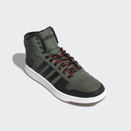 Кроссовки мужские Adidas  Hoops 2.0 Mid CG7115