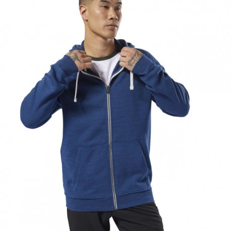 Худи мужская Reebok Training Essentials Marble Full-Zip CY4929