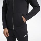 Толстовка мужская Reebok Training Essentials Fleece Zip Up FU3241