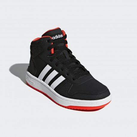 Кроссовки детские  Adidas Hoops 2.0 Mid B75743