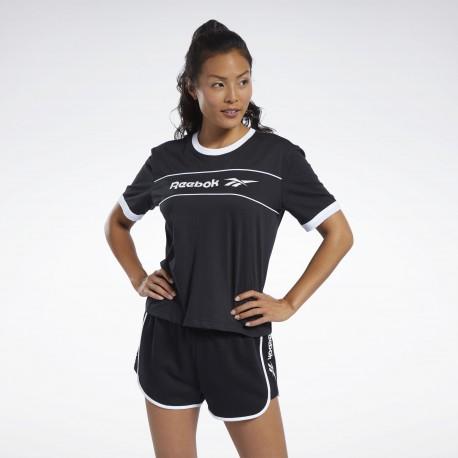 Футболка женская Reebok  Classics Linear FK2784