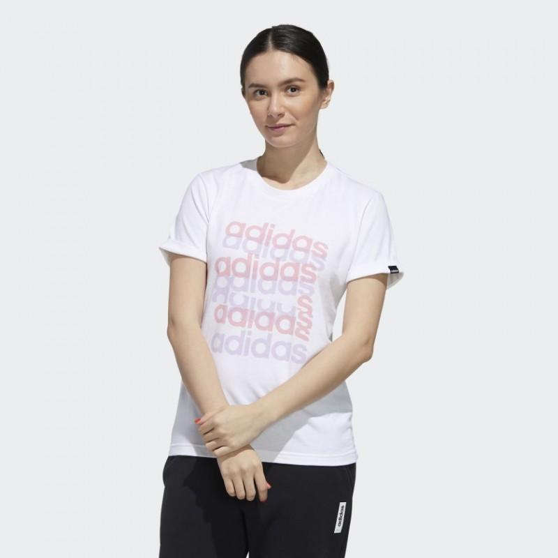 Футболка женская Adidas Big Graphic FM6150