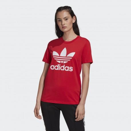 Футболка женская Adidas Originals Trefoil Tee FM3302