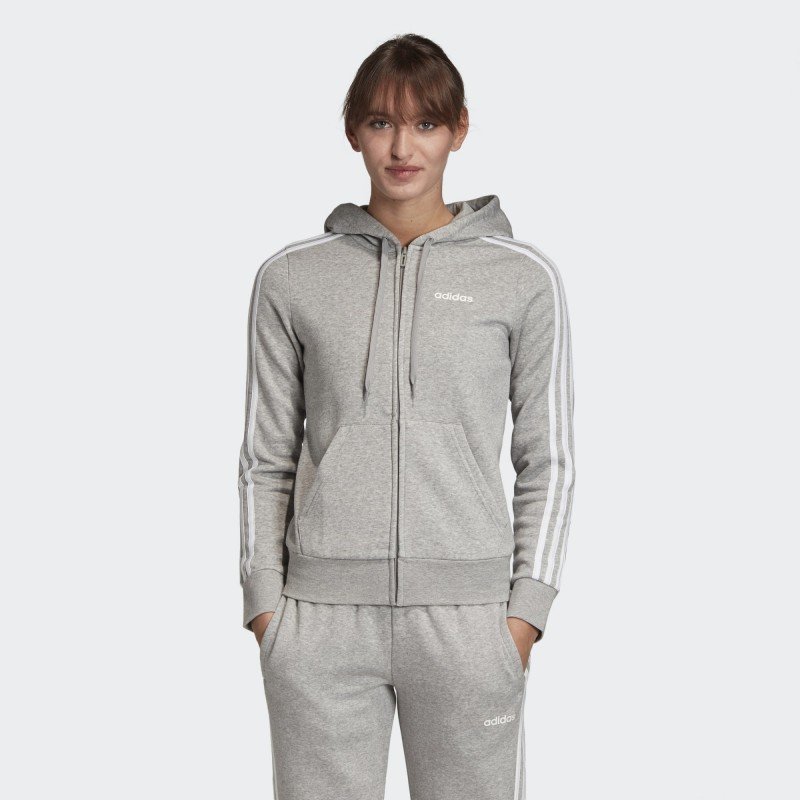 Толстовка женская  Adidas Essentials 3-Stripes EI0683