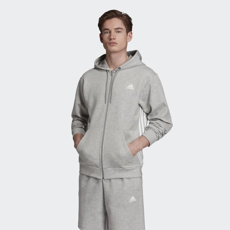 Толстовка мужская  Adidas Must Haves 3 - Stripes EB5281