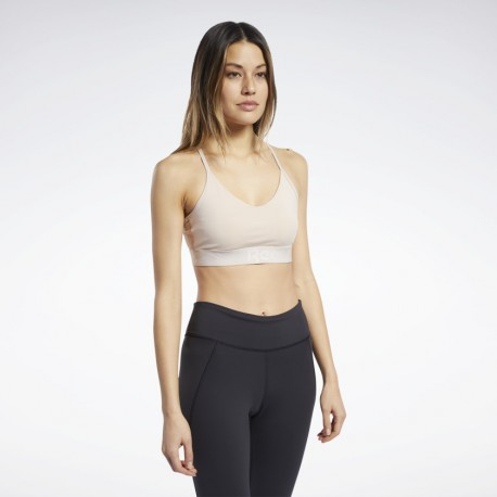 Бра-топ Reebok Strappy Back Low-Impact FQ0398