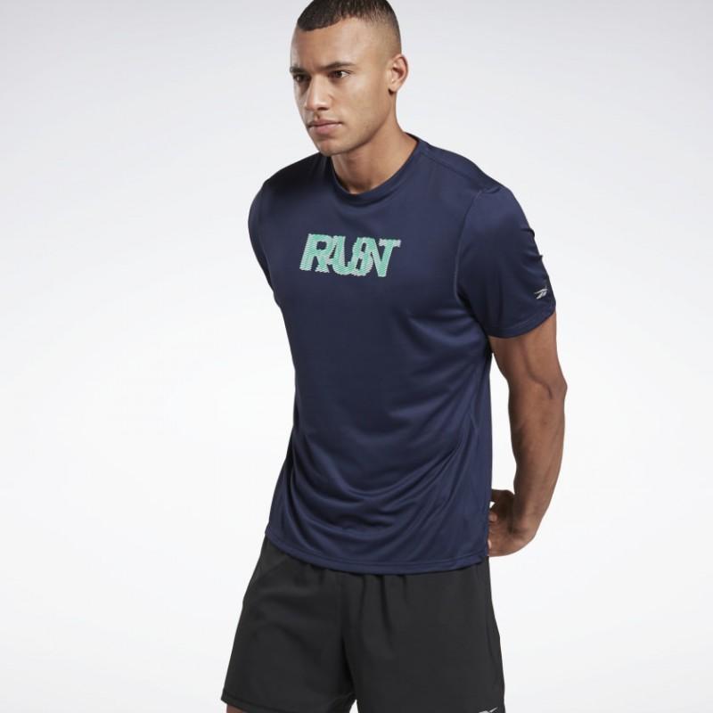 Футболка мужская Reebok Run Essentials Run Fast FU1337