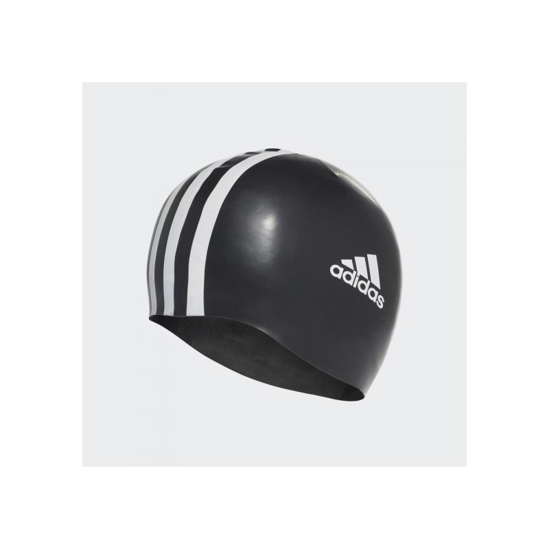 Плавательная шапочка мужская Adidas 3-Stripes Silicone 802310
