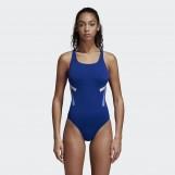 Слитный купальник женский Adidas Athletic Tape DH2378
