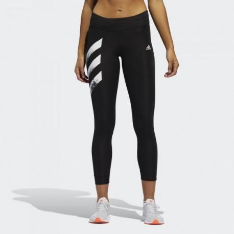 Леггинсы для бега женские Adidas OWN THE RUN 3-STRIPES FAST FP7539